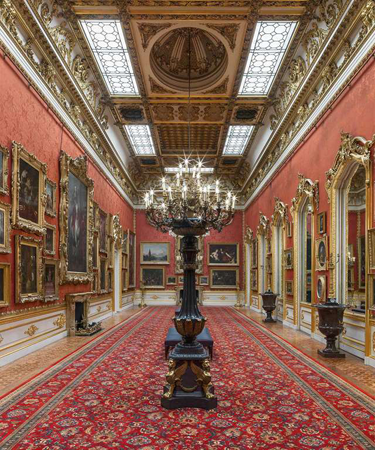 The Waterloo Gallery in Apsley House