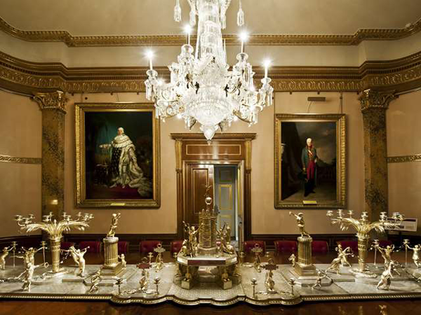 The Trophy Room in Apsley House