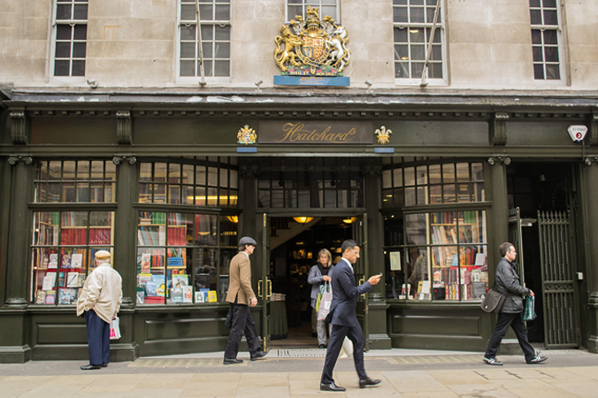 Hatchard's Book Store on Piccadilly Street