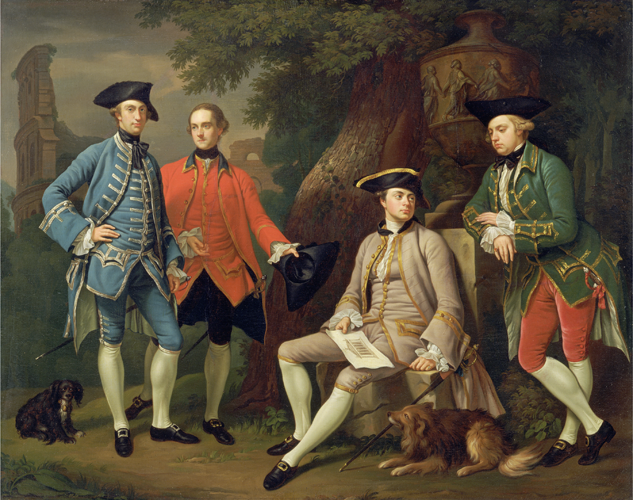 A group of English gentlemen by Nathaniel Dance-Holland