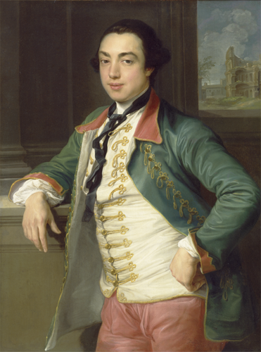 Viscount Charlemont by Batoni