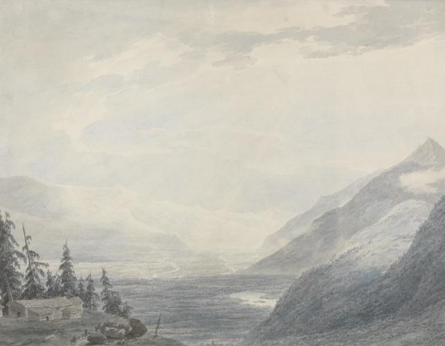 The Pays de Valais by John Robert Cozens