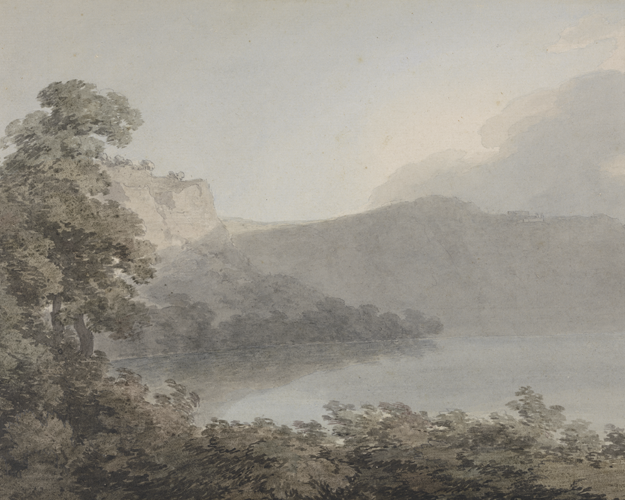 Lake of Vico by John Robert Cozens