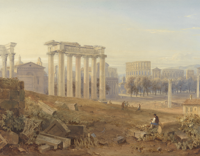 View of the Forum by Hugh W. Williams
