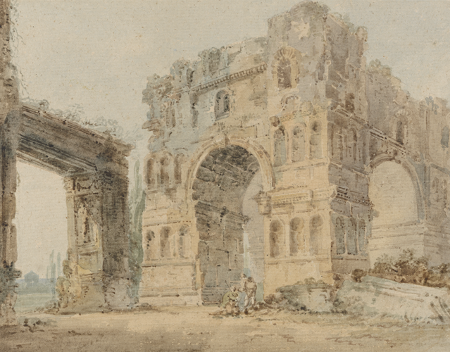 The Arch of Janus by Thomas Girtin